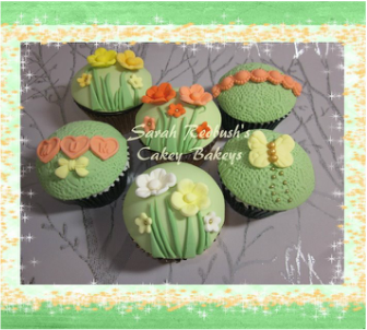 Spring Themed Cupcakes