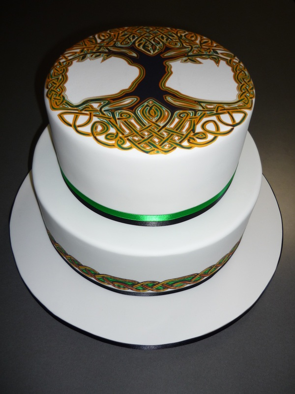 Tree of Life Wedding Cake