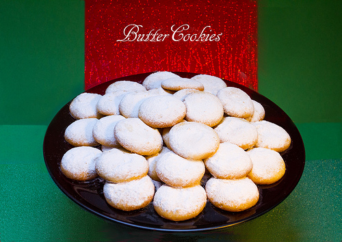 Let it Snow Butter Cookies